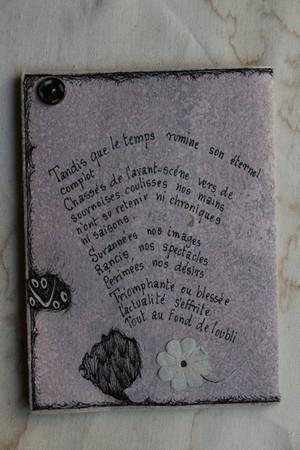 Livre objet Andrée Chédid