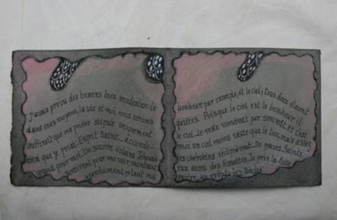 Livre objet Emily Dickinson